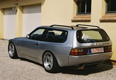 Porsche station wagon. Does this mean a fat lab and some kids???? Be great for camping...