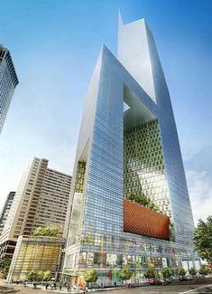 American Commerce Center | Kohn Pedersen Fox Associates (KPF)