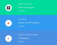 3 awesome new design jobs just added to @workforthem .Workforthem is fast becoming the number one jobs board for designers. Make sure you check it out link in bio. Also make sure to follow @workforthem for future job updates. . . . #ui #dribbble #ux #designjobs #webdesign #graphic #uidesign #userinterface #minimal #graphicdesignui #inspiration #interface #appdesign #digital #graphicdesignuiweb #app #graphicdesign #creative #webdesigner #userexperience #uxdesign #designinspiration #dribbblers…