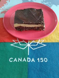 Canada Day - Food Ideas: A Canadian Classic, the Nanaimo Bar! Nanaimo Bars, Canada 150, Summer Fun, Red And White, Food Ideas, Classic, Day, Desserts, Kids