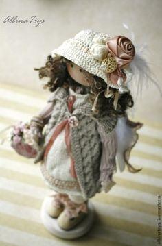 Коллекционные куклы ручной работы. Ангел Тая. Бохо. По мотивам. ALBINAToys.. Ярмарка Мастеров. Кукла ручной работы