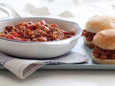 Sloppy Joes    These meaty, cafeteria-style have all the flavor of the sandwich you grew up on, but they're extra-lean so you can feel good about making them for your family.
