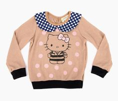 Misha Lulu x Hello Kitty Sweater: Polka Dots in New + Cool New Arrivals at Sanrio