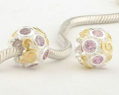Pandora Cyber Monday Silver Charms With Colorful Stones SC054 Deals