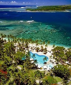 Fiji, Australia-- something about this place ever since i was a kid i wanted to explore it! Dream Vacation Spots, Vacation Trips, Dream Vacations, Oh The Places You'll Go, Places To Travel, Places To Visit, Shangri La Fiji, Tahiti, Cuba