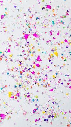 Colorfull confete #GlitterBackground
