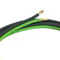 Power and Speaker Wire: 100 Ft True 10 Gauge Green Black Awg Sky High Car Audio Speaker Wire Car Home -> BUY IT NOW ONLY: $37.49 on eBay!