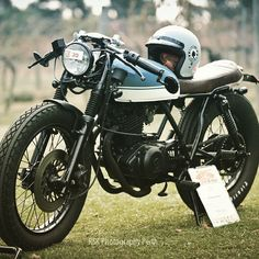 Who would of imagined that a #Suzuki #GN250 could look so good! I believe it's…