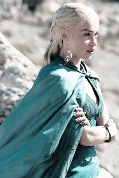 Daenerys Targaryen in Game of Thrones Season 4
