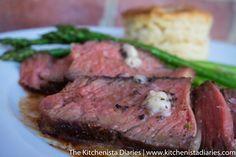 The Kitchenista Diaries: Truffle Butter Rib Eye Steak: Reverse Sear Method