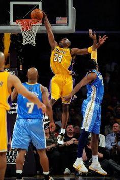 Kobe Bryant dunk shot.