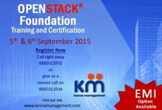 Openstack Foundation Training & Certification batch on 5th and 6th September 2015