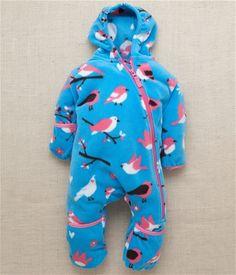 Hatley Winter Birds Fleece Infant Bundler Polaroid, Kids Pajamas, Cute Baby Clothes, Cute Babies, Dinosaur Stuffed Animal, Overalls, Kids Outfits, Kids Fashion, Infant