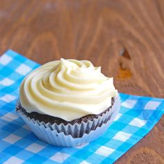 Cooked flour frosting. I've always only cooked the milk and flour first, then added it to butter, Crisco, and sugar, etc., but this post does it a bit differently. The taste, however, is divine.