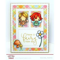 The Greeting Farm LITTLE FAIRIES Clear Stamps TGF254 Preview Image