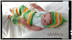 Baby knitting set,baby gift,Smarty Pants & Hat,,Newborn photo props. by ICOStyle on Etsy