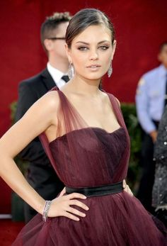 Mila Kunis Red Carpet Looks