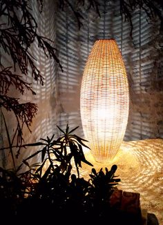 Amphora Outdoor Floor Lamp by Bover Boho Lighting, Modern Lighting Design, Coastal Lighting, Custom Lighting, Rattan Lamp, Bamboo Lamp, Bamboo Table, Outdoor Floor Lamps, Outdoor Flooring