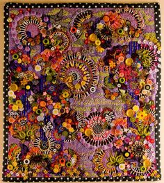 Art quilt.  Uses all modes.  Artist unknown.  Image credit unknown.