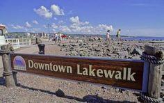 Downtown Lakewalk- Duluth, MN #MSPGetaway