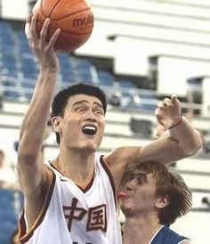 Funny Sport Moments Yao Ming