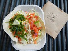 Fish Taco and Tuna Ta-Taco @TacoFinoCantina