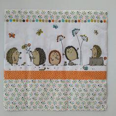 Ubrousek ježci Decoupage