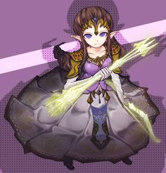 Princess Zelda Lights arrows