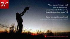 Native American Quote.