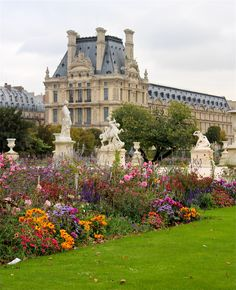 Brought to you by Tickled Pink Homes http://tickledpinkhomes.com  Les Tuileries Garden, Paris, France