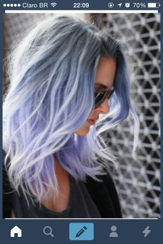 Blue and grey