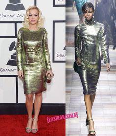 Un look de 10 para Rita Ora en los Grammy