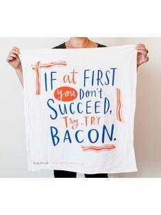 Bacon Dish Towel