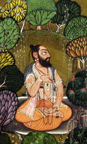 Chyavana (Sanskrit: च्यवन, Cyavana) was a rishi in Hindu mythology. He was son of Bhrigu and is known for his rejuvenation through a special herbal paste known as Chyawanprash, which was first prepared for him some 10,000 years ago, at his Ashram on Dhosi Hill. http://en.wikipedia.org/wiki/Chyavana