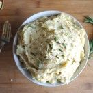 Dijon and Olive Oil Mashed Potatoes - dairy free