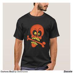 Cartoon Skull T-Shirt Keep It Cleaner, Shop Now, Skull, Cartoon, Mens Tops, T Shirt, Fashion, Supreme T Shirt, Moda