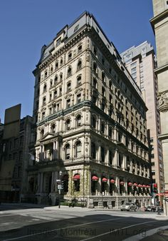 James Hotel Image Montreal, pictures and information and history Montreal Ville, Montreal Quebec, Quebec City, Montreal Architecture, Architecture Old, Architecture Details, Rue Sainte Catherine, Fairytale Castle, Old Buildings