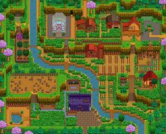 Image result for stardew valley hill top layout