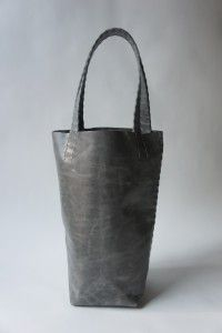 beautiful leather bags/buckets