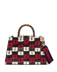 Womens Handbags & Bags : Gucci Bamboo Handbags Collection & More Details