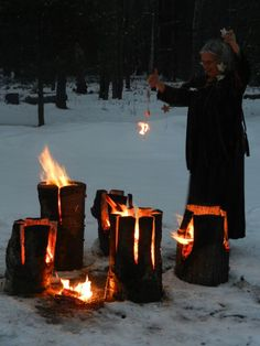 A Slavic celebration of Koljada (21st December) – date of the winter solstice.