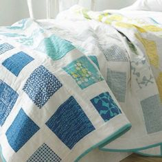 This modern quilt WAVES (pattern by Eschhousequilts) was featured in Modern Patchwork Magazine. Fabrics are SPHERE by Zen Chic for Moda