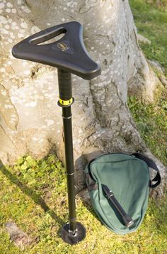 Our folding packaway seat is light to carry and has integral handles in the seat allowing it to be used as a sturdy walking stick.Supplied with a point and plate foot for soft surfaces and a Walking Sticks, Packing, Plate, Strong, Events, Shoulder Bag, Green, Bags, Outdoor