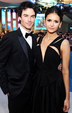 Costar Couples Pictures - Ian Somerhalder and Nina Dobrev - UsMagazine.com
