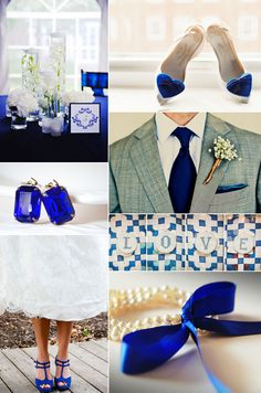 Cobalt blue wedding <3