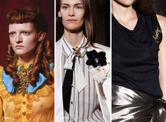 Spring/ Summer 2017 Jewelry Trends: Brooches & Pins