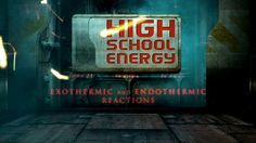 Exothermic and Endothermic Reactions - High School Energy on Vimeo High School Chemistry, Teaching Chemistry, Middle School Science, Energy Resources, Science Resources, Science Lesson Plans, Science Lessons, Physical And Chemical Properties, Chemical Science