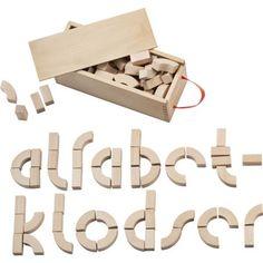 Kay Bojesen Alfabetklodser  - billede 2