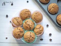Babeczki bananowe z czekoladą #babeczki #muffiny #bananowe #bananowebabeczki #bananowemuffiny #deser Breakfast, Live, Morning Coffee