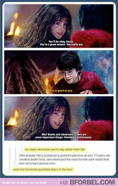 Hermione *could* be the best wizard of all time